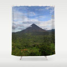 Violent Hill Shower Curtain