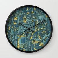 apollo Wall Clocks featuring Apollo by Guapo