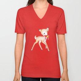 Deer Unisex V-Neck