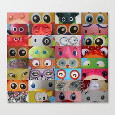 Eyes Eyes Eyes  Canvas Print