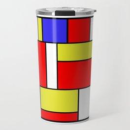 Mondrian #57 Travel Mug
