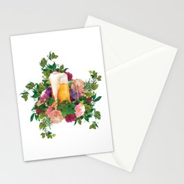 Beer Bouquet Stationery Cards