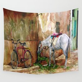 Sultry day Wall Tapestry