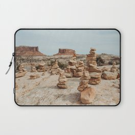 Rock Cairns of Moab Laptop Sleeve