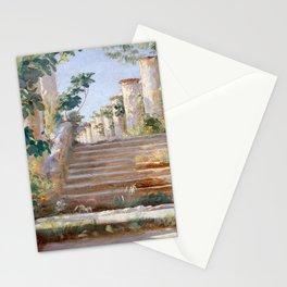 Peder Severin Krøyer Loggia in Ravello Stationery Cards