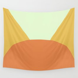 Deyoung Orange Wall Tapestry