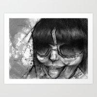 sassy Art Prints featuring Sassy by Stina Beebe