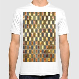 Black Gold Copper Tile T-shirt