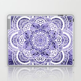 Mandala Lavender Colorburst Laptop & iPad Skin