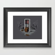 Dawn of gaming Framed Art Print