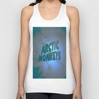 arctic monkeys Tank Tops featuring Arctic Monkeys by SLIDE