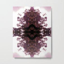 Violet Diamond Metal Print