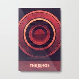 Saturn - The Rings  Metal Print