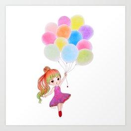 My Balloon Art Print
