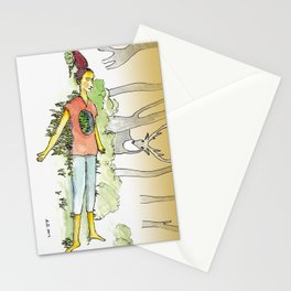 Hollow Chest Stationery Cards