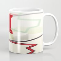 paper towns Mugs featuring Paper Towns by Dreki