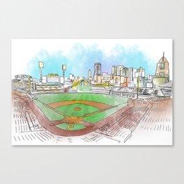PNC Park Canvas Print