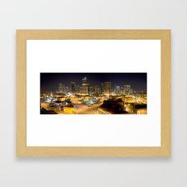 The Queen City Framed Art Print