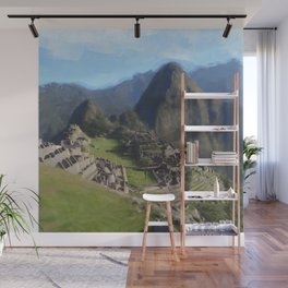 Machu Picchu Wall Mural