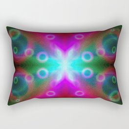 Bubbles Bokeh Effect G122 Rectangular Pillow