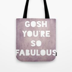 Gosh (Fabulous) Tote Bag