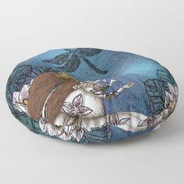 The Golden Ball Floor Pillow