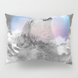 Maybe the Wolf Is In Love with the Moon Pillow Sham