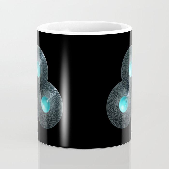 Triple Celt Coffee Mug