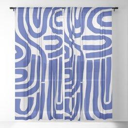 S and U Sheer Curtain