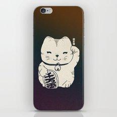 FORTUNE CAT iPhone & iPod Skin