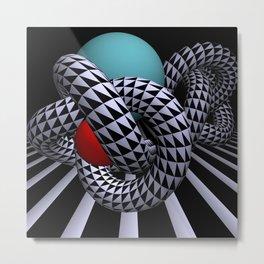 knots and balls Metal Print
