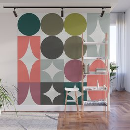 Mid Century Focal Point Wall Mural