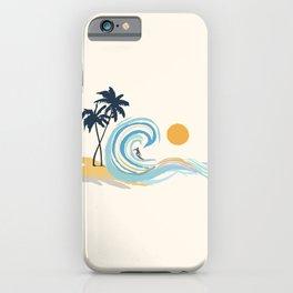 Minimalistic Summer II iPhone Case