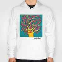 keith haring Hoodies featuring Keith Haring: The Tree of Monkeys by cvrcak