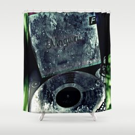 Come On Die Young Rave Tapes Mogwai Men Shower Curtain
