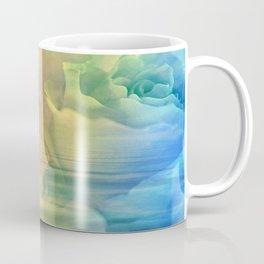 Rainbow Rose Water Abstract Coffee Mug