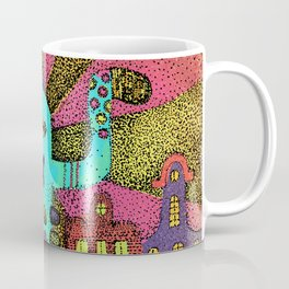 Cute monster in Amsterdam Coffee Mug