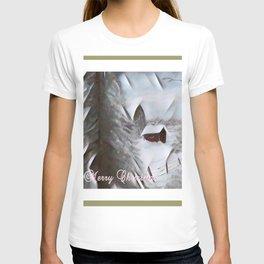 Winter Cabin Christmas T-shirt