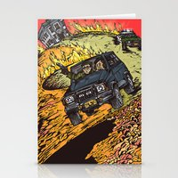 the goonies Stationery Cards featuring The Goonies by Carol Wellart