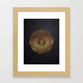 -A27- Original Heritage Moroccan Islamic Geometric Artwork. Framed Art Print