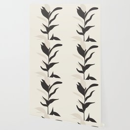 Abstract Minimal Plant Wallpaper