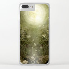The Great Lie, Forest Clear iPhone Case