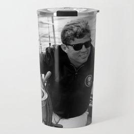 President John Kennedy Sailing Travel Mug