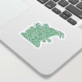 Japanese Monster Sticker