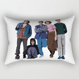 The Breakfast Club 80s movie Rectangular Pillow