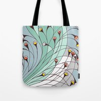 lights Tote Bags featuring lights by colli1 3designs