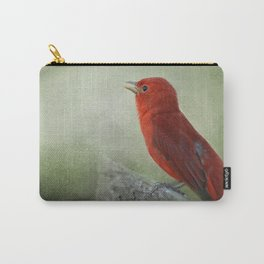 Song of the Summer Tanager 3 - Birds Carry-All Pouch