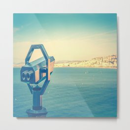 Le Lookout Over Nice Metal Print