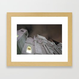 Cathedral at Midnight Framed Art Print