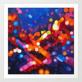 Abstract painting - Carl Soete Art Print